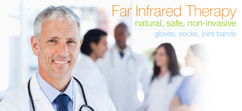 Natural arthritic, raynaud's, joint inflammation pain relief with Far Infrared Therapy, Bio-Ceramic fabric
