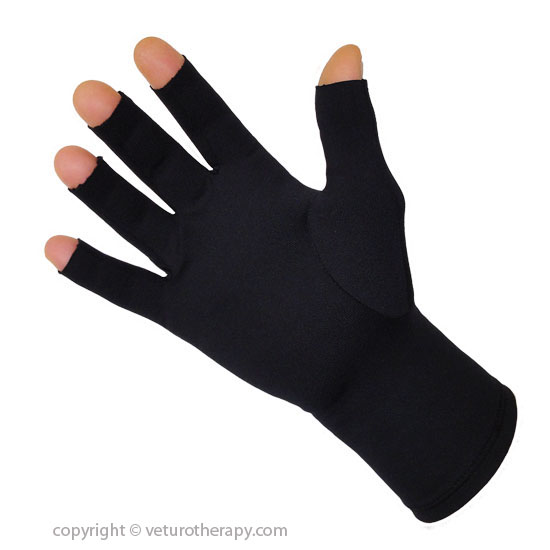 Gloves With Fingertips Out: Infrared Arthritis Gloves Fingertip Compression Help