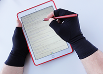 arthritis gloves work on iPad