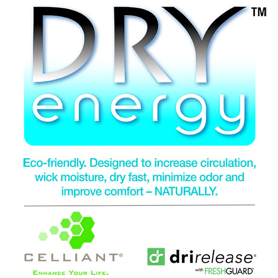 Dry Energy Technology Logo Therapy Socks by Veturo