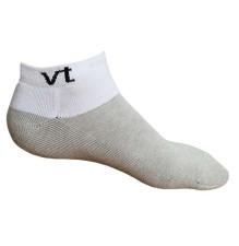 Infrared Ankle Socks White