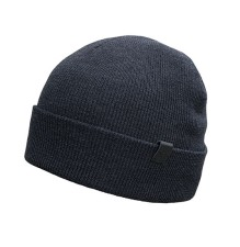 Merino Wool Cuffed Beanie for Natural Warmth