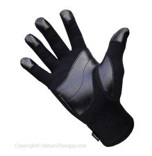 Infrared Raynaud's Gloves Leather Grip
